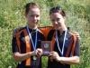 IK-32:n naiset ottivat viidentenä vuotena peräkkäin mitalin SM-paritempossa. Tällä kertaa pronssinen mitali ripustettiin Anna Lindströmin ja Laura Liljan kaulaan.