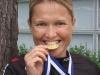 Katariina Laakkonen kilpaili tällä kaudella ensimmäisen kerran kotimaassa. Tuloksena ikäluokkien Suomen mestaruus (N30 aika-ajo).
