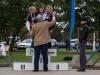 """SM aika-ajon yhteydessä taisteltiin myös joukkuekilpailun Suomen mestaruudesta. Anna Lindström, Merja Kiviranta ja Katariina Laakkonen olivat suorastaan murskaavan ylivoimaisia voittaen kakkoseksi sijoittuneet \""""antennitytöt\"""" yli seitsemällä minuutilla."""