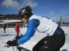 Talvitriahtlonin maailmanmestaruuksista kisattiin 26.3. Jämijärvellä. Mari Marttinen voitti N40-luokan. Ikäsarjojen kisamatkat olivat 3km juoksu - 8km maastopyöräily ja 6km hiihto. Pyöräilyosuus oli kisan haastavin, sillä reittiin kuului paljon pehmeää latupohjaa. Mari ratkaisi kilpailun edukseen ohittamalla hiihto-osuudella hopealle sijoittuneen italialaisen Stefania Valsecchin.