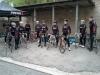 Team valmistautumassa Rosendahl GP -kilpailuun.