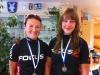 Teamillä kunnon ajoitus osui tänäkin vuonna nappiin. 2.7. saavutettiin edellisen päivän mitalien jatkoksi kaksi hopeamitalia, kun Säkylässä taisteltiin maantieajon Suomen mestaruuksista. Riikka Pynnönen ajoi loistavan ajon, ottaen naisten elite-luokassa kakkospaikan suvereenin Pia Sundstedtin (GIF) jälkeen. Riikka hävisi mestaruuden vajaalla kahdella minuutilla, mutta voitti lähes viisi ja puoli minuuttia pääryhmän, joka taisteli pronssisesta mitalista. N18-luokan kilpailussa Vilma Alanko oli mukana kolmen tytön irtiotossa, joka päätyi tiukkaan loppukirikamppailuun. Siinä Vilma tuli eilisen tavoin toiseksi, mestarin vaan vaihtuessa.