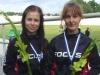Laura Lilja ja Vilma Alanko polkivat ratapyöräilyn parisprintissä naisten elite-luokan SM-pronssille. Mestaruuden korjasi odotetusti CCH:n pari Elisa Turunen ja Sabine Haavisto.