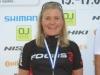 Maantiepyöräilyn SM-kilpailut käynnistyivät Liedossa aika-ajoilla. Merja Kiviranta ajoi jälleen hienosti ottaen neljäntenä vuonna peräkkäin SM-pronssia naisten elite-luokassa. Kärkikolmikko oli todella tasainen, sillä Merja hävisi mestaruuden voittaneelle Anne Palmille (CCH) vain 11 sekuntia 28 km:n matkalla.