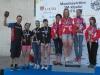 Teamin junioritytöt nappasivat SM-joukkuekilpailusta naisten tavoin hopeamitalit. Mestaruuden otti Kauhajoen Karhut. Juniorijoukkueessamme ajoivat Ida Sten, Cecilia Aintila ja Vilma Alanko. Palkintopallilla mukana joukkueenjohtaja Juha Aintila.