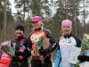 Jaana Hyvärinen teki hienon kilpailudebyytin sijoittumalla toiseksi kotimaisen kilpailukauden avauskilpailussa Simo Klimscheffskijn muistoajossa Turussa 14.4. Kilpailun voittoon polki CCH:n Sini Savolainen.