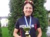 Riikka Pynnönen on voittanut naisten elite-luokan duathlonin (10 - 40 - 5) Suomen mestaruuden. Kilpailu käytiin Nurmossa 19.5. Toiseksi sijoittui OTC:n Maija Oravamäki, joka juoksi todella kovaa, mutta joutui pyörän päällä taipumaan Riikalle.