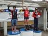 Kilpailut jatkuivat Kauhajoella 16.6. ja taas nähtiin Jaana Hyvärinen samalla palkintopallilla kuin eilen. Tosin muut tytöt podiumilla ovat eri kuin eilen. Tämän päivän Hyypänlaakson maantieajo kuului maantie cupiin. Kilpailun voitti Sini Savolainen (CCH), joka myös johtaa kokonaiscupia. Jaana nousi toiseksi tasapistein Laura Vainionpään (KaKa) kanssa. Cup jatkuu elokuun alussa Liedossa.
