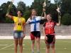Viikonvaihteen 26.-28.7. SM-rata kilpailujen avauslajissa 500m aika-ajossa Jenni Kukkonen voitti ylivoimaisesti naisten elite-luokan. Jenni pysäytti kellot aikaan 37,97, kun hopealle sijoittunut TVC:n Pia Pensaari ja pronssille polkenut CCH:n Elisa Turunen käytti vastaavaalle matkalle yli 39 sekunttia. Näin Jenni sai pukea päällensä himoitsemansa Suomen mestaripaidan. Koko teami onnittelee lämpimästi!