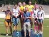 Ratapyöräilyn SM-lajeista ajettiin 19.7. keirin, joukkuesprintti ja linja-ajo. Heidi Onger sijoittui linja-ajossa neljänneksi, nappasi keirinistä pronssia ja nousi joukkuesprintissä toiseksi korkeimmalle korokkeelle Jaana Hyvärisen kanssa. Mestareiksi kruunattiin TVC:n Pia Pensaari ja Elisa Turunen. IK-32:n joukkueenjohtajana pikahälytyksellä Ville-Pekka Reponen.