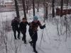 Teamiläiset olivat tänään 28.12. pakkaspäivänä sauvojen kanssa ulkoilemassa. Koskaan ei tule väheksyä terveysliikunta oppien hyödyntämistä myös kilpaurheilun harjoittelussa, saaden näin monipuolisuutta tekemiseen.