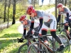 Välillä meno näytti cyclocrossilta. Rosa, Riina ja Heidi.