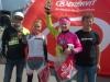 Mirka Vahtera ajoi toiseksi Giro d´Espoo -kuntotapahtuman kilpaluokassa. Voittoon polki Let´s go:n Sari Saarelainen jo kolmatta vuotta peräkkäin. Mirka tippui Sarin kyydistä noin kymmenen kilometriä ennen maalia Kaunialan vaativassa nousussa. Mirka kuitenkin alitti kolmen tunnin rajan 110km:n matkalla.