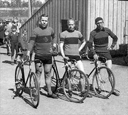 Olgert Rusetsky (vas), Holger Wistbacka ja Holger Winqvist – yhteiseltä lempinimeltään
